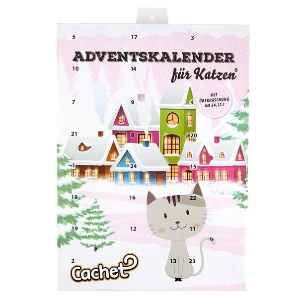 Cachet/Romeo Adventskalender für Tiere