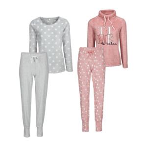 QUEENTEX     Plüsch-Pyjama