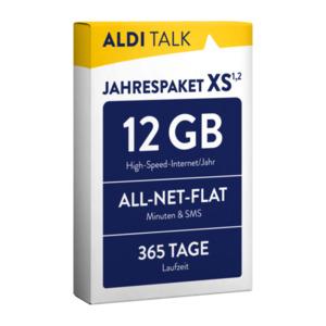 ALDI TALK Jahrespaket XS