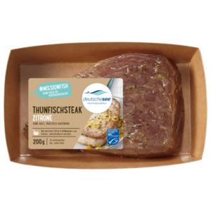 Deutsche See Fischmanufaktur Thunfischsteak Zitrone 200g