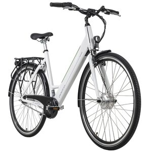 Adore Alu E-Citybike 28'' Palermo weiß für Damen