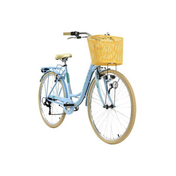 KS Cycling Cityrad 6-Gänge Cantaloupe 28 Zoll für Damen