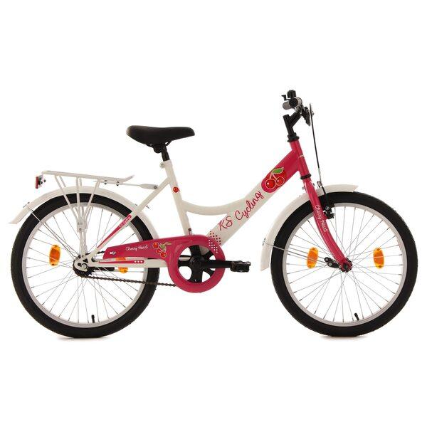 KS Cycling Kinderfahrrad Cherry Heart 20 Zoll für Mädchen