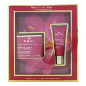 Nuxe Merveillance Lift and Firm Rich Cream + Eye Contour Lift Set Geschenk Set für Damen
