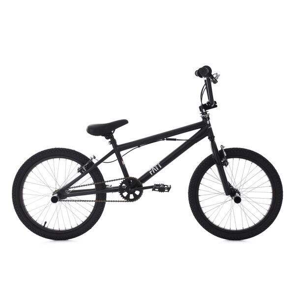 KS Cycling BMX Freestyle 20'' Fatt schwarz für Jungen