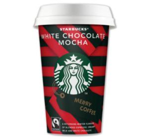 STARBUCKS Caffè Latte oder White Chocolate Mocha
