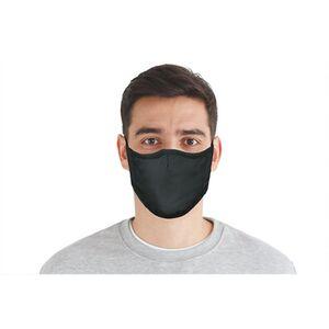 Mund-Nasen-Masken 3er-Set blau/grau/schwarz