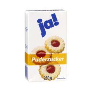 ja! Puderzucker