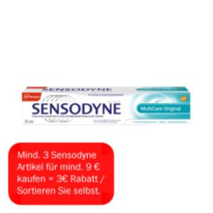 Sensodyne Zahncreme Multicare
