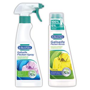 Dr. Beckmann Gallseife Flecken-Spray / Flecken-Bürste