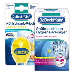 Dr. Beckmann Kühlschrank-Frische / Spülmaschinen Hygiene-Reiniger