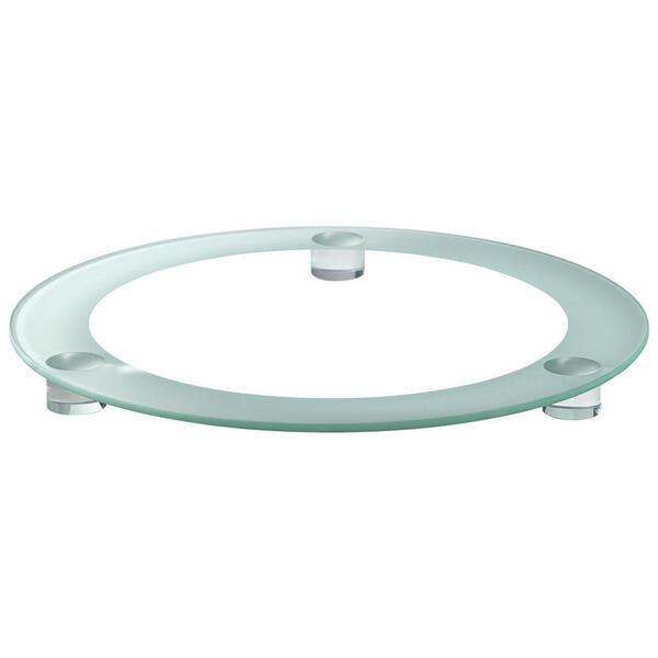 Leonardo Tortenplatte , 095590 , Klar , Glas , 33x2.5x33 cm , klar , handgemacht , 003813143501