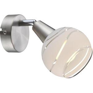 Boxxx Led-strahler , 54341-1Lu Elliott *sb* , Metall, Glas , 10x15x19 cm , matt , schwenkbar, verstellbare Spotlights , 004558162901