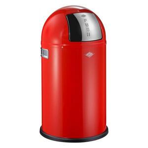 Wesco Abfallsammler 22 l , 175531-02 *mb* , Rot , Metall , 36.5x64.5x36.5 cm , pulverbeschichtet , 003578007201