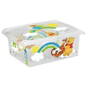 Disney Box mit deckel , 1270100108400 , Multicolor, Transparent , Kunststoff , 29x14x39 cm , glänzend , Deckel, Deckel abnehmbar, stapelbar , 003556000207