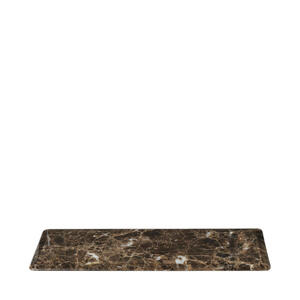 Blomus Servierplatte , 64059 , Braun, Beige , Stein , 12x1.5x33 cm , Naturstein,Marmor , 004178052301