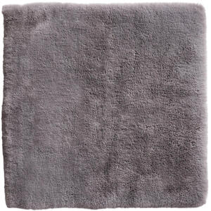 Esposa BADEMATTE Grau 60/60 cm , Secco , Textil , Uni , 60x60 cm , softmatt, geprägt,Webpelz , rutschfest, rutschhemmend , 008982018101
