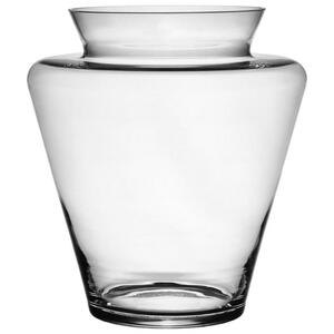 Novel Vase 31,5 cm , 17-5004 , Klar , Glas , 31.5 cm , transparent , mundgeblasen, handgemacht, zum Stellen , 0067140005