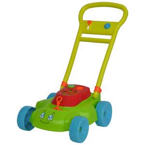 Simba Seifenblasen rasenmäher , Seifenblasen Rasenmäher , Blau, Gelb, Grün, Orange, Rot , Kunststoff , 26x48x28 cm , Geräuscheffekte, zusammenklappbar,Geräuscheffekte, zusammenklappbar,Geräusch
