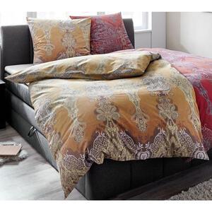 Bassetti Bettwäsche rot , 9278222 Moreta , Textil , Ornament , 155x220 cm , pflegeleicht, bügelleicht , 005639020602