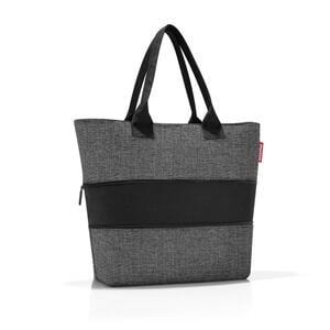 Reisenthel Einkaufstasche , Rj7052 , Grau , Textil , 50x26.5x16.5 cm , verschließbar, großes Hauptfach , 003555012809