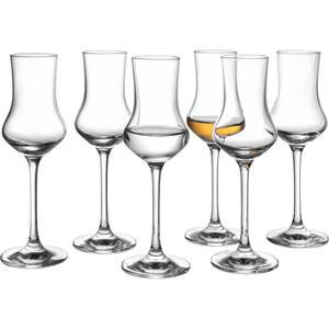 Schott Zwiesel Gläserset 6-teilig , 120518 , Klar , Glas , 95 ml , 5.8x17.45 cm , glänzend, klar , 0058080157