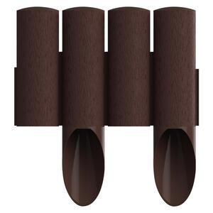 XXXLutz Gartenpalisade , 8034041 , Braun , Kunststoff , 55 mm , 25.5 cm , 008802027801