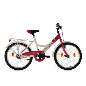 XXXLutz Kinderrad 20' chery heart 620k , Kinderrad 20' Chery Heart , Weiß, Pink , Metall , 0036160020