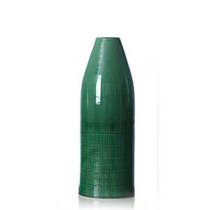 Ritzenhoff Breker Vase 34 cm , 259216 , Grün , Keramik , 13x34x13 cm , glänzend , zum Stellen , 003417063806
