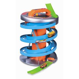 XXXLutz Parkgarage , 512403 Maisto 'GO Fast Garage' _ Blau, Orange, Hellgrün , Kunststoff , 25.5x25.5x33.6 cm , 005490000303