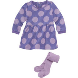 Kleid-/Strumpfhosen-Set