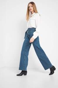 Wide Leg High Waist Jeans