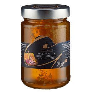GOURMET Wabenstück in Blütenhonig mit Akazienhonig 500 g