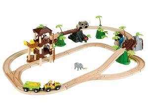 PLAYTIVE® Eisenbahnset »Baustelle« oder »Dschungel«