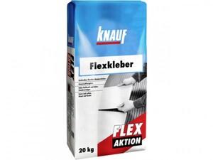 Knauf Flexkleber Flex Aktion ,  grau, 20 kg