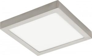 Eglo Led Panel Deckenleuchte Fueva-C ,  nickel-matt, RGB
