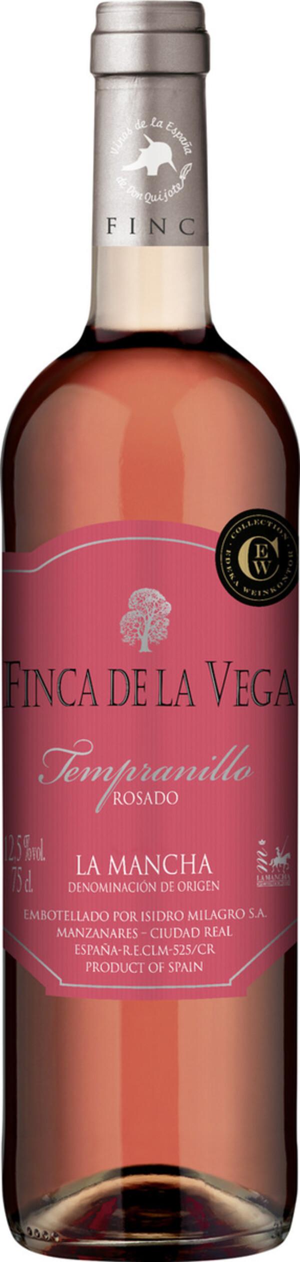 Finca de la Vega Tempranillo Rosado 2019 0,75L