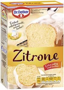 Dr.Oetker Backmischung für Zitronen Kuchen 485 g
