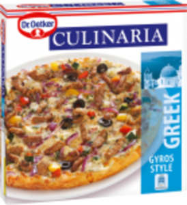 Dr. Oetker Pizza Tradizionale, Die Ofenfrische oder Culinaria Pizza