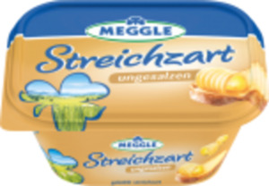 Meggle Butter oder Streichzart ungesalzen
