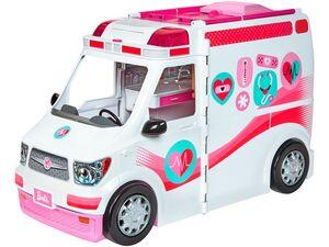 Barbie »2in1 Krankenwagen Spielset« mit Licht und Sound