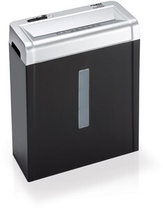 Aktenvernichter 22017 schwarz/silber