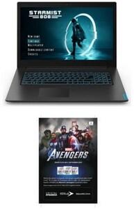 "IdeaPad L340-17IRH (81LL00CYGE) 43,9 cm (17,3"") Gaming Notebook schwarz inkl. Avengers Voucher"