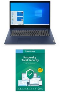 """IdeaPad 3 17IML05 (81WC0050GE) 43,9 cm (17,3"""") Notebook abyss blue inkl. Total Security"""