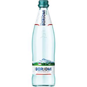 """Natürliches Mineralwasser mit Kohlensäuren versetzt """"Borjomi..."""