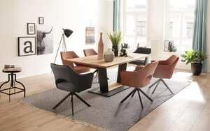 MCA furniture - Stuhlgruppe Tonala / Malambo in Balkeneiche massiv