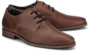 COX, Derby-Schnürer in mittelbraun, Business-Schuhe für Herren
