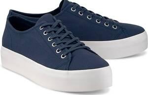 Vagabond, Canvas-Sneaker Peggy in dunkelblau, Schnürschuhe für Damen