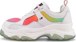 Tommy Jeans, Trend-Sneaker Degrade Flatform in weiß, Sneaker für Damen