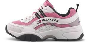 Tommy Jeans, Sneaker Heritage Runner in rosa, Schnürschuhe für Damen